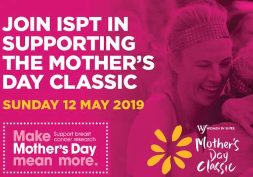 Join ISPT in supporting the Mother's Day Classic 2019